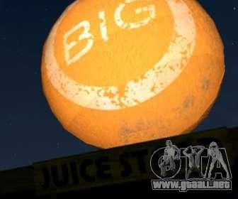 Gran bola naranja en GTA V