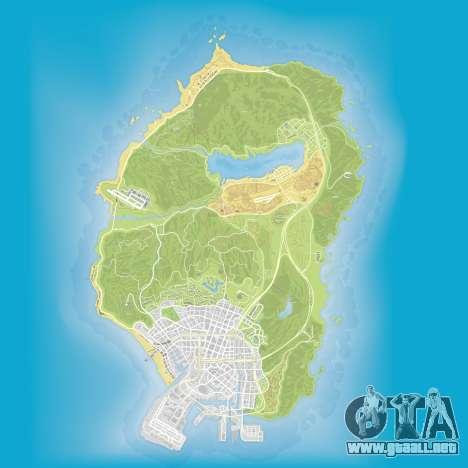 El mapa de la subacuático partes en Grand Theft Auto 5