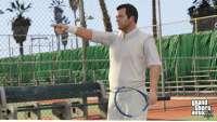 GTA 5: tenis