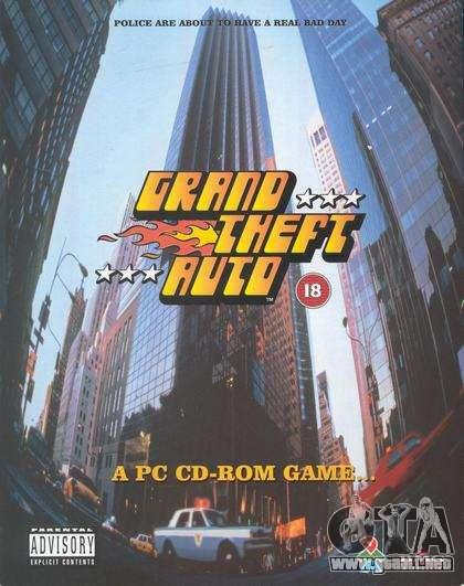 15 años de la fecha de lanzamiento de GTA 1 PC en Japón