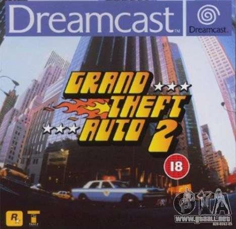 el Lanzamiento de GTA 2 para Dreamcast en América del Norte: de 20 a 21