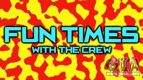 Mayo actualizaciones de vídeo Crew Rockstar