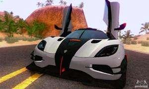 Koenigsegg One 2014 para el GTA San Andreas