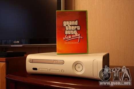 Comunicados de GTA para Xbox en Japón: Vice City