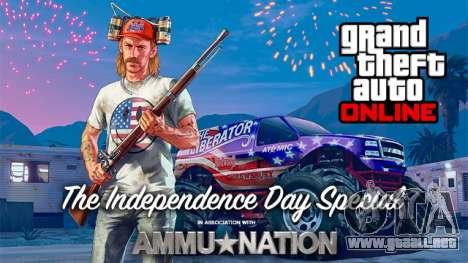 el Día de la independencia en el GTA Online