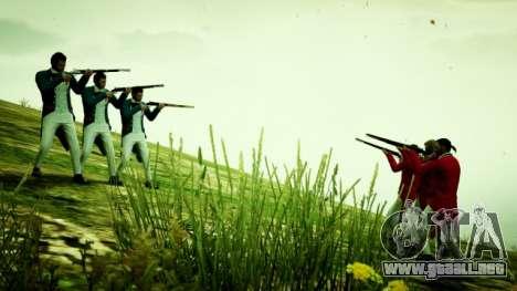 los Patriotas en el GTA online: el video y la foto