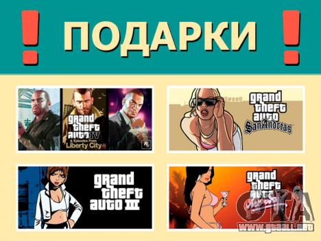 los Premios de los juegos de la serie GTA