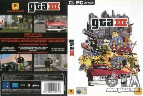 Comunicados de 2003: GTA 3 para PC en Japón