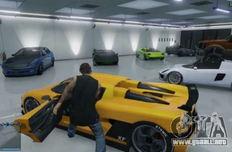 Garajes en GTA Online