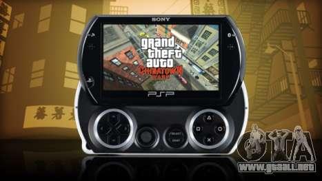 la Salida de GTA CW PSP en Norteamérica