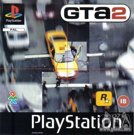 Comunicados de la década de los 90 GTA 2 para PS en Europa