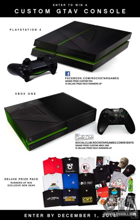 Concurso de PlayStation 4 y Xbox One