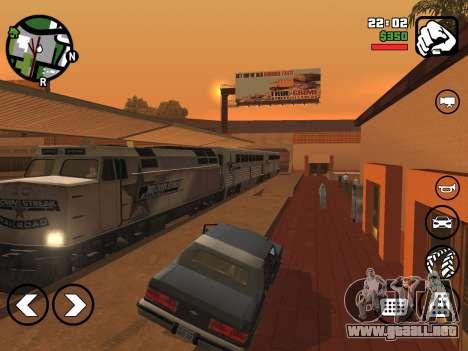 Comunicados de GTA para Android: San Andreas