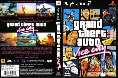 Lanzamiento de Vice City para PS2 en Europa y Australia