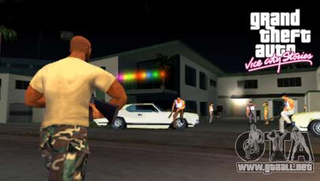 la Salida de Vice City Stories de PSP en Europa