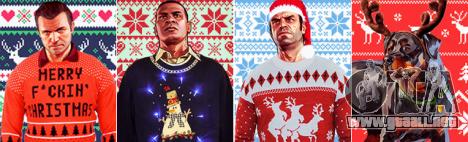 Fan Art GTA 5: la actualización de navidad