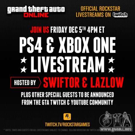 GTA 5: el sorteo de los premios y difusión de Rockstar