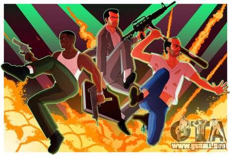 GTA 5 Fan Pics: actualización de divertidos la foto