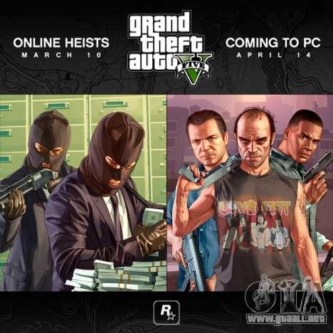 la Salida de GTA 5 para PC de nuevo sufrieron