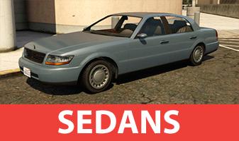 GTA 5 sedanes