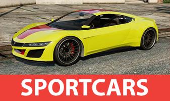 Coche de deportes en el GTA 5