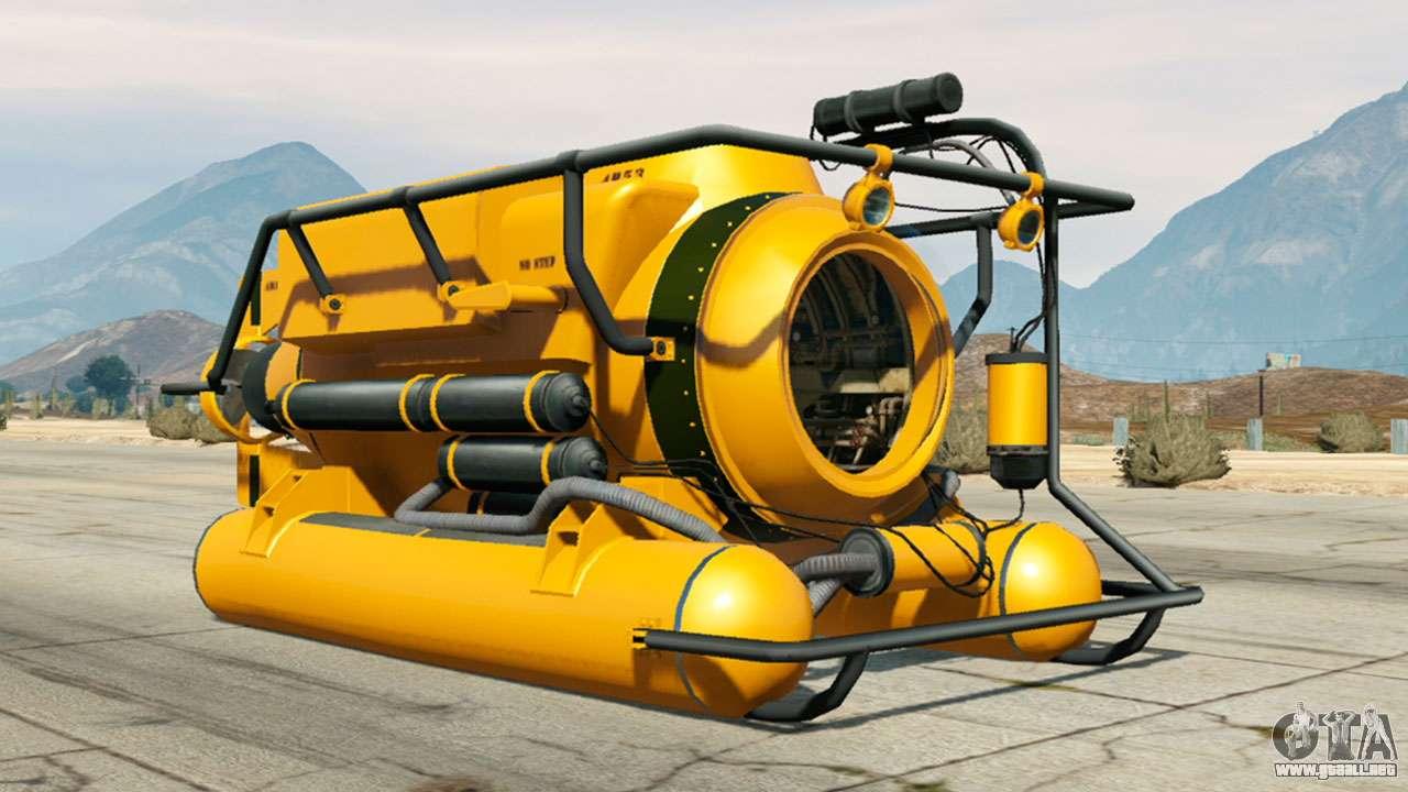 Submersible de GTA 5
