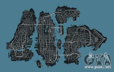 Mapa de tiendas de ropa GTA 4