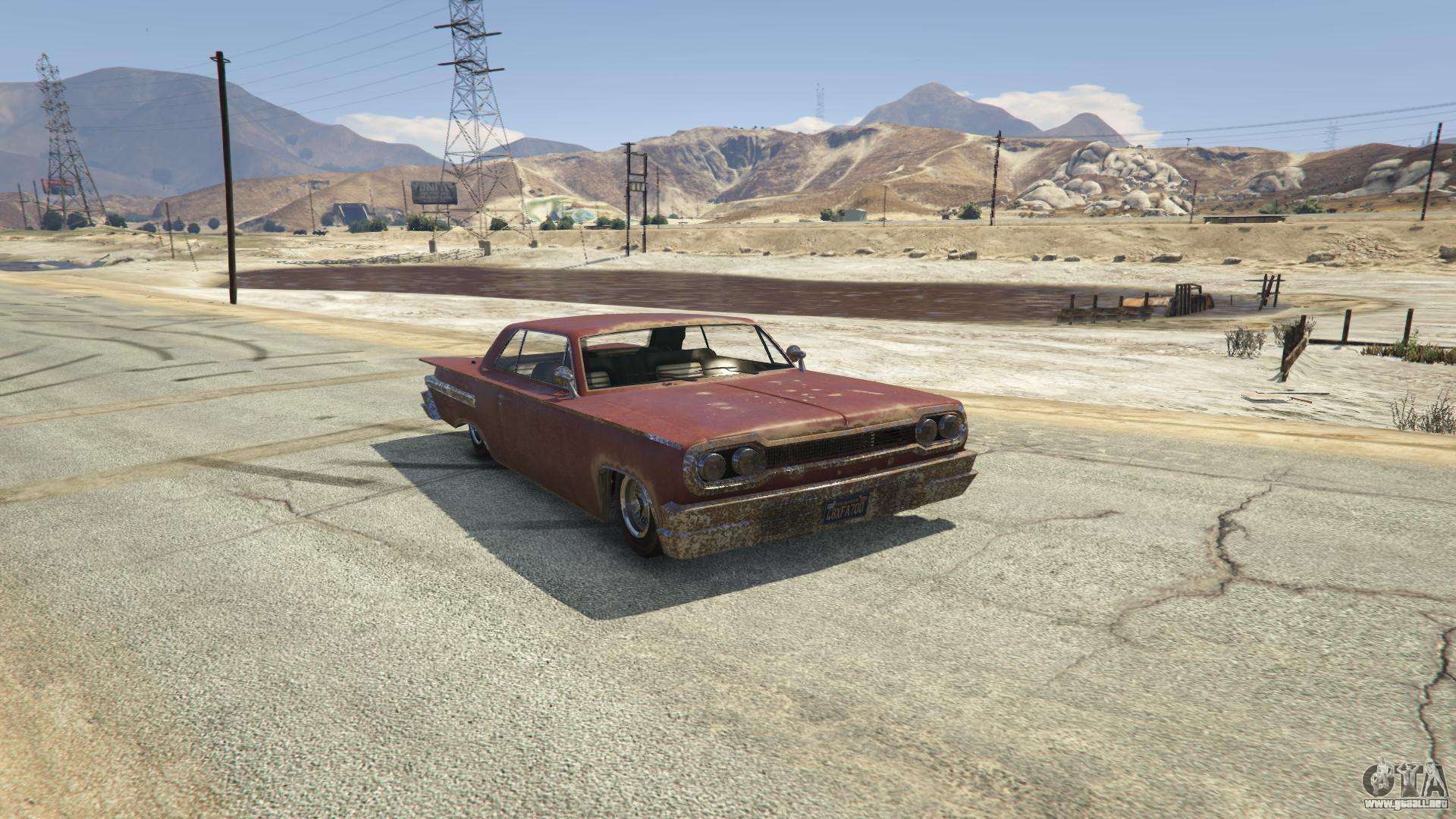 Voodoo de GTA 5 - vista frontal