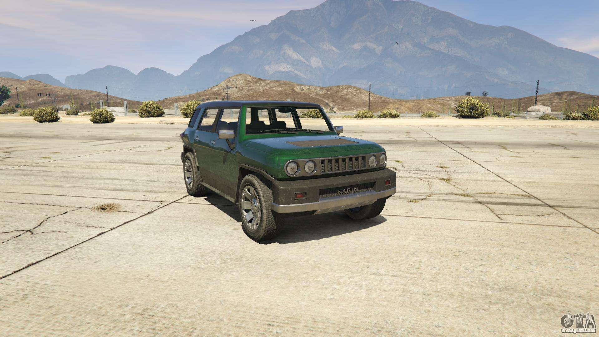 GTA 5 Karin BeeJay XL - vista frontal