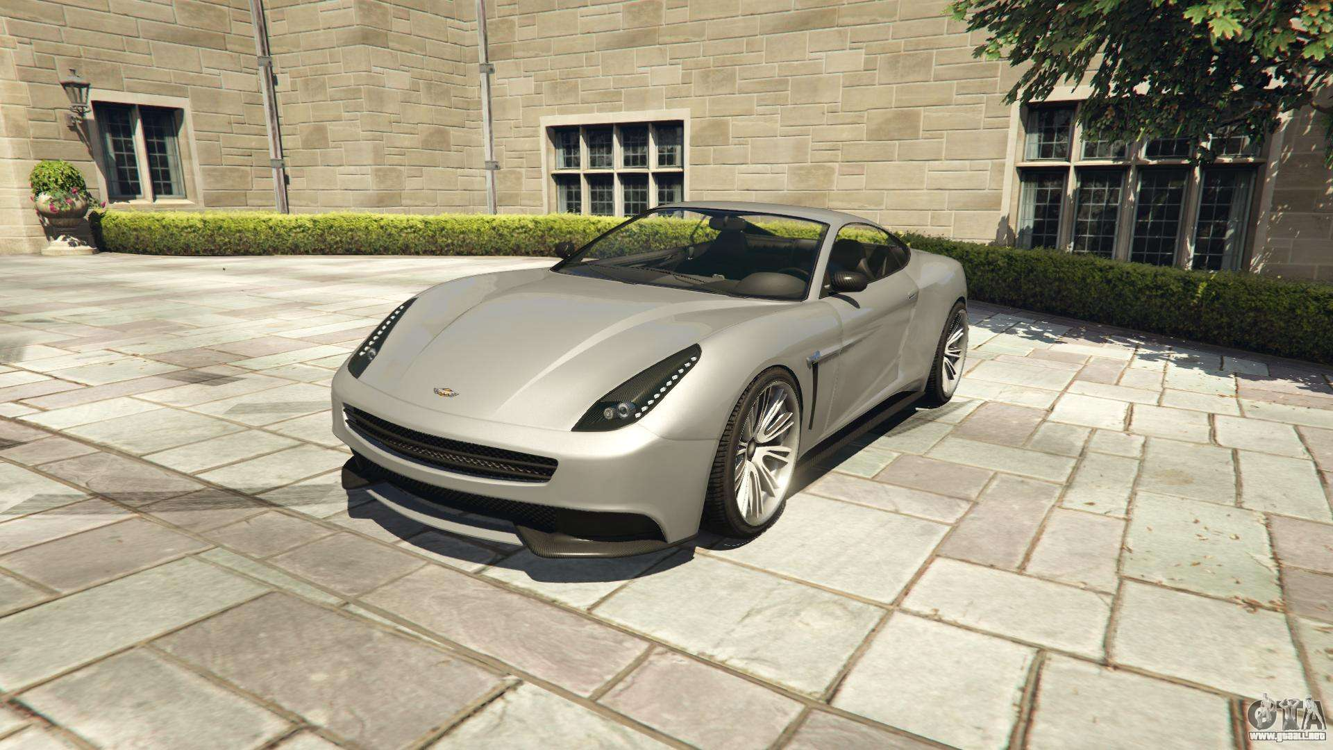 Dewbauchee Massacro GTA 5 - vista frontal