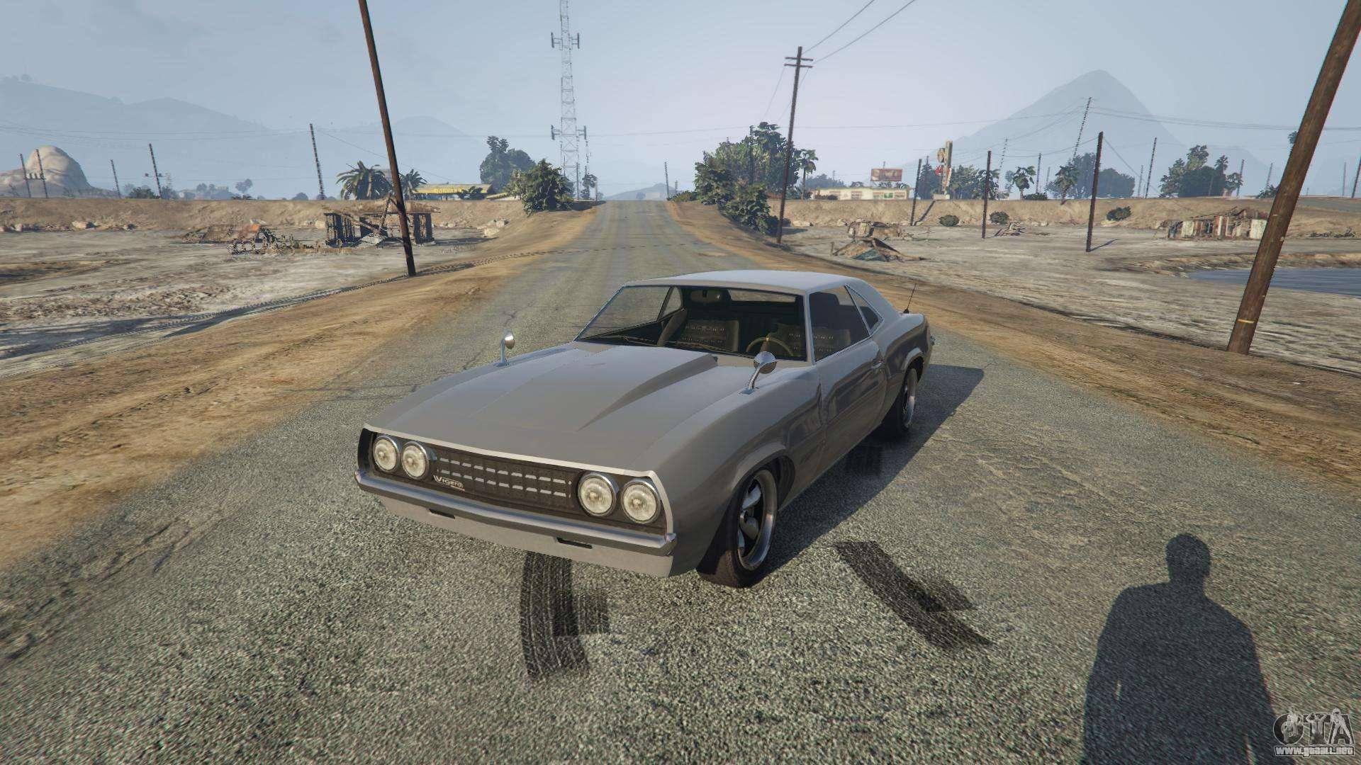 Vigero de GTA 5 - vista frontal