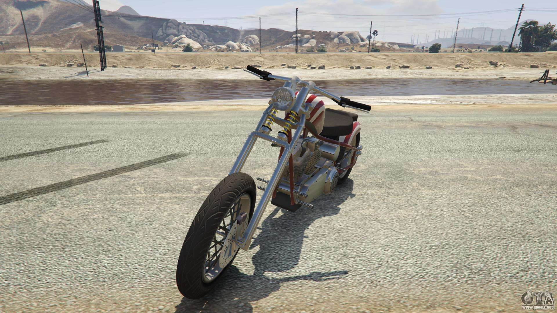 Liberty City Cycles Hexer de GTA 5