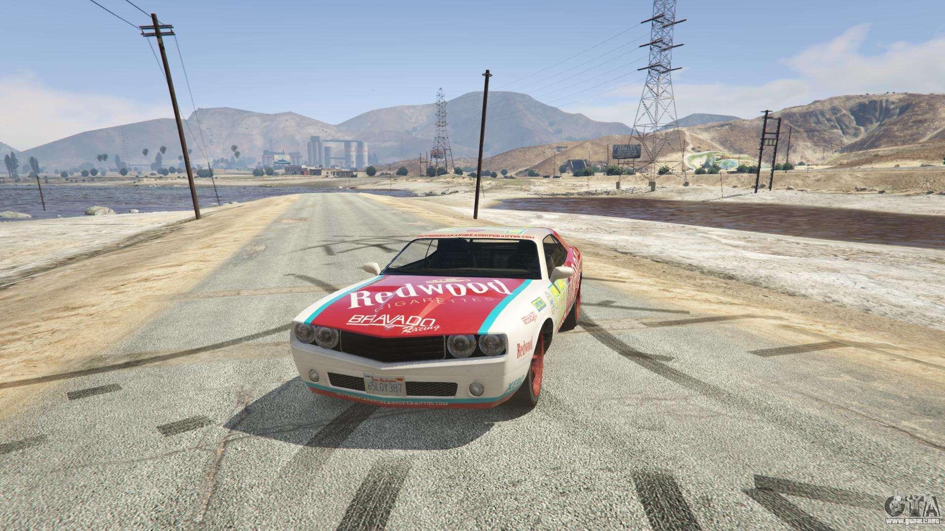 Redwood Gauntlet GTA 5 - vista frontal