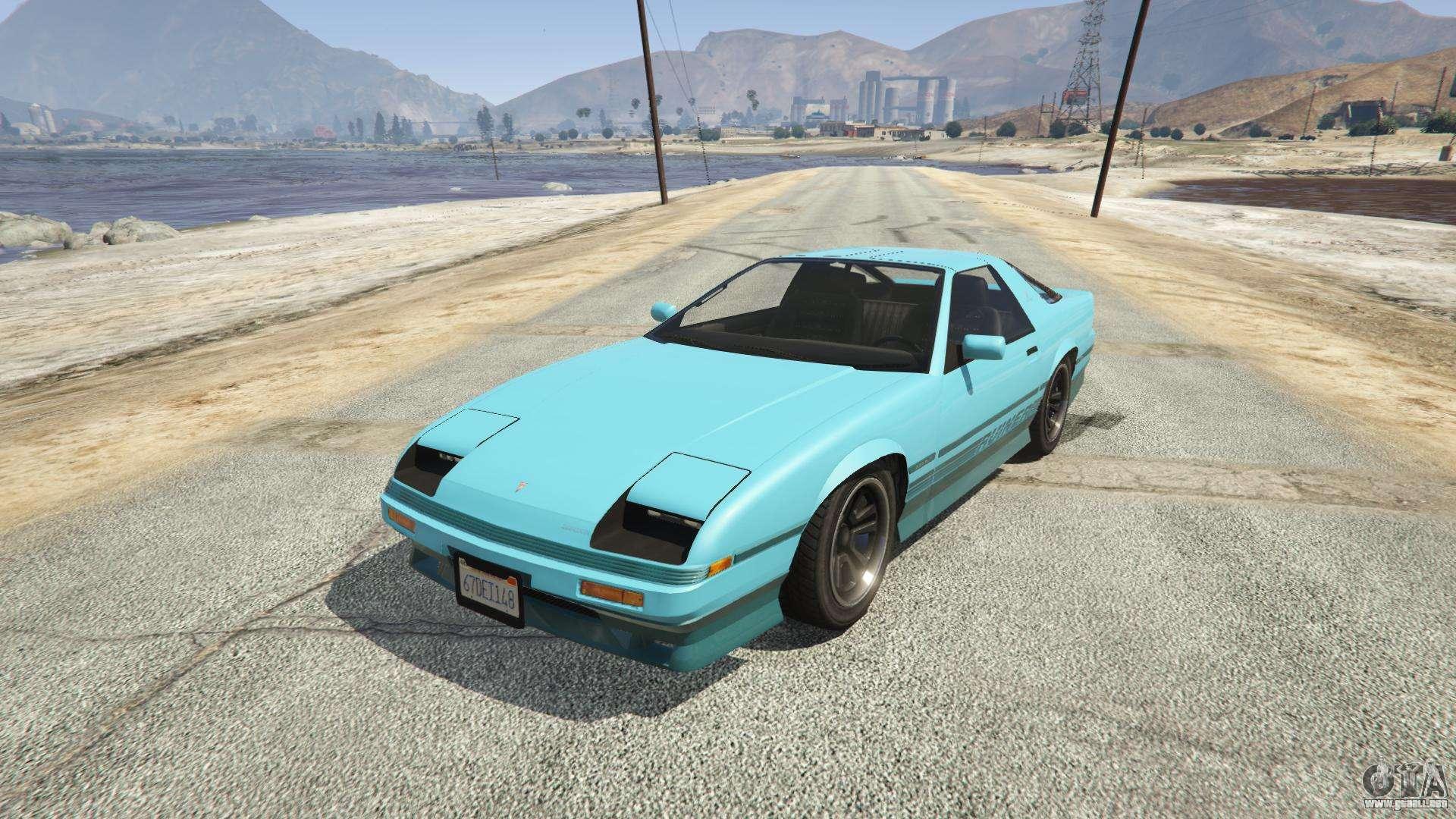 Imponte Ruiner GTA 5 - vista frontal