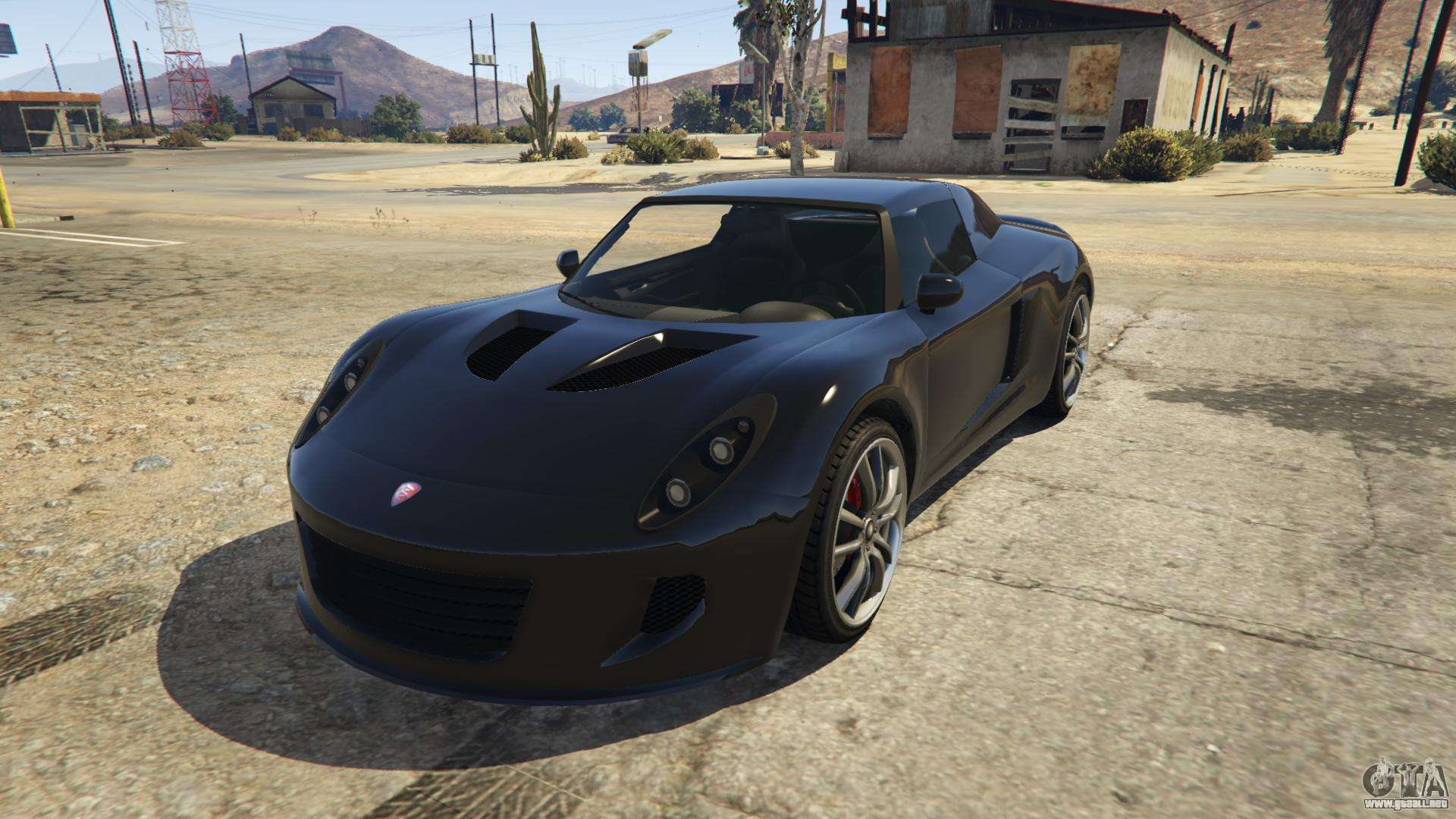 Coil Voltic de GTA 5 - vista frontal