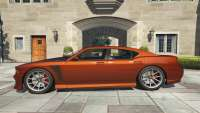 El bravado Buffalo S GTA 5 - vista lateral