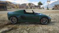 Coil Voltic Topless de GTA 5 - vista lateral