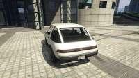 Declasse Rhapsody de GTA 5 - vista posterior