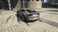 Dewbauchee Versión de GTA 5 - vista posterior