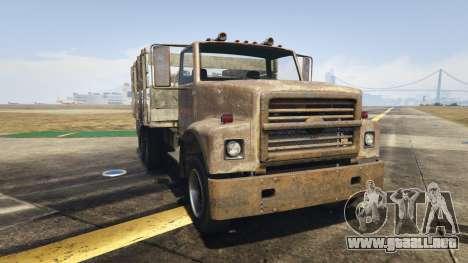 Vapid Scrap Truck