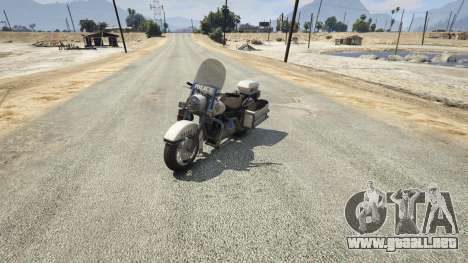 WMC Police Bike