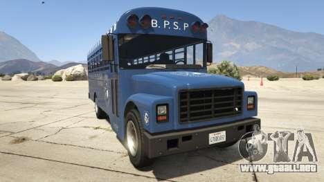 Vapid Prison Bus