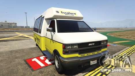 Brute Rental Shuttle Bus