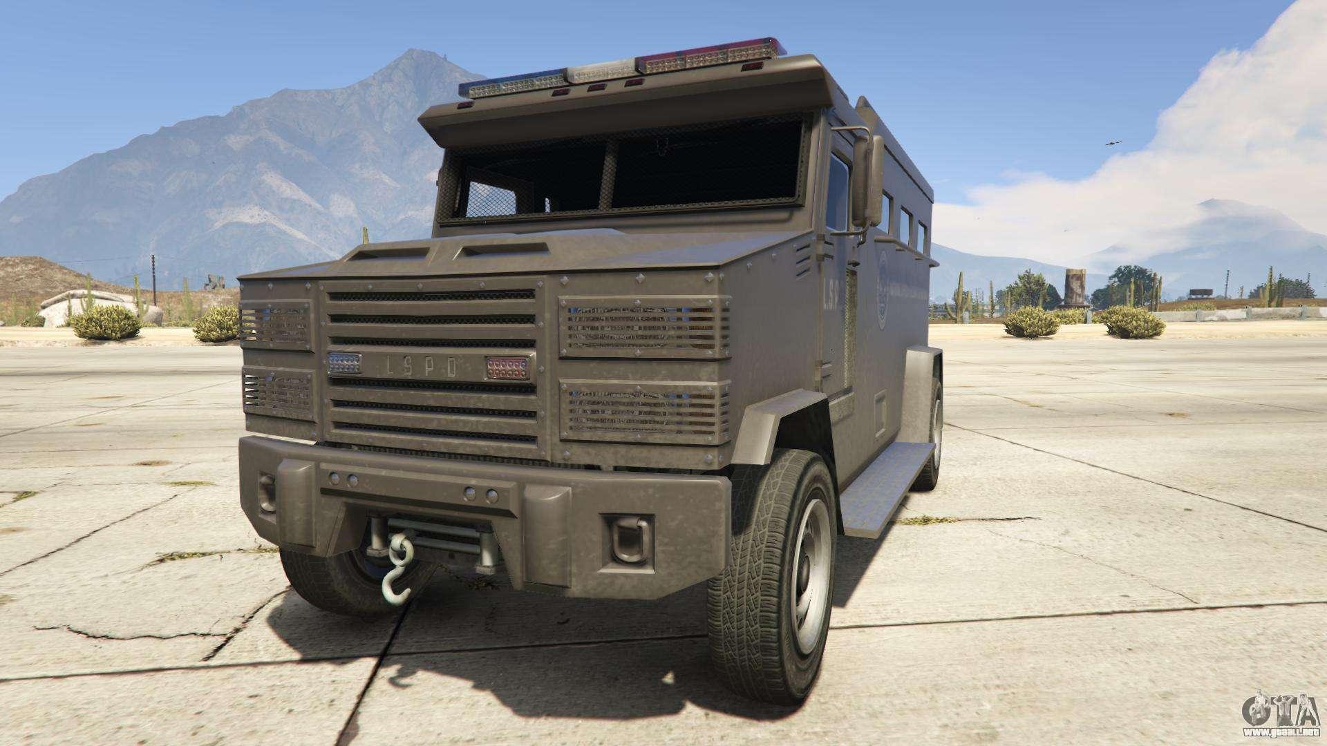 GTA 5 Brute Police - vista frontal