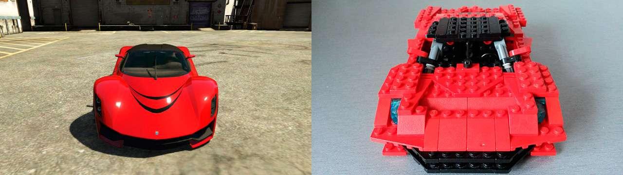 Lego Grotti Turismo R - vista frontal