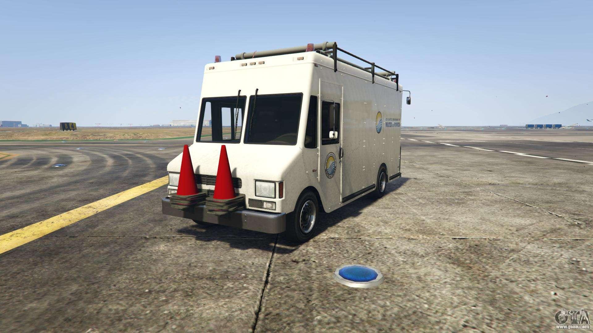 GTA 5 Bruta Boxville - vista frontal