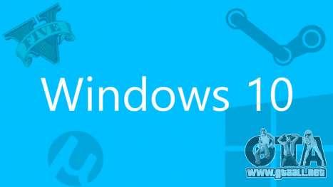 GTA 5 no funcionará en Windows 10