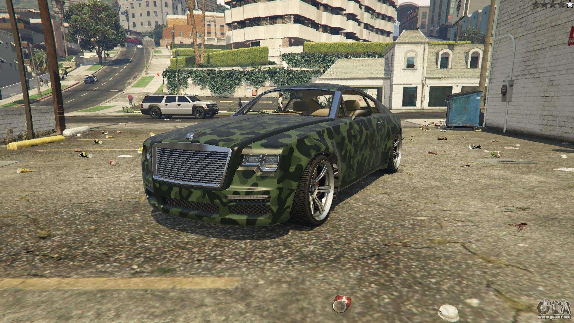 Enus Windsor aus GTA 5