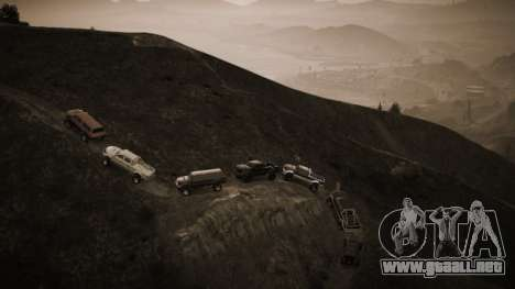 el San Andreas 4x4 crew
