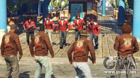 Los Guerreros, las Pandillas de Pelea